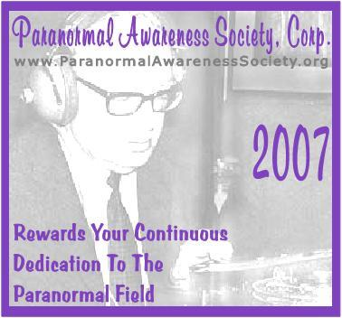 paranornmal awareness